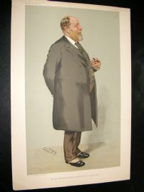 Vanity Fair Print 1905 Sir J. Wolfe-Barry